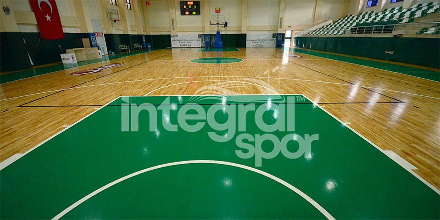 basketball court installation
