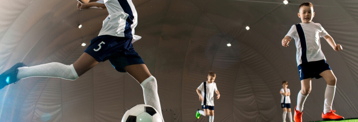 Through Which Stages is Indoor Astro Pitch Made?