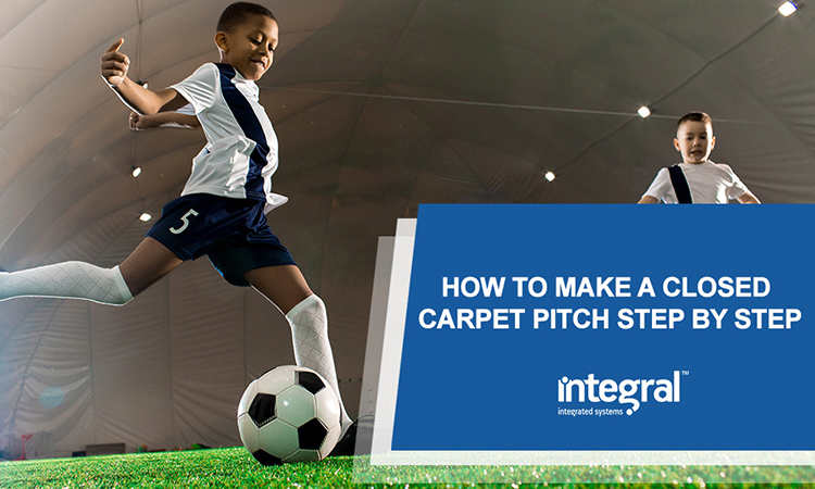 How To Make A Closed Carpet Pitch Step By Step