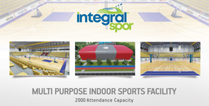 Indoor Sports Hall for 2000 People