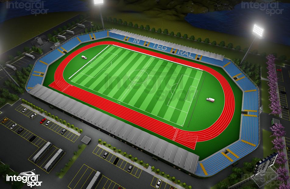 10.000 Person Stadium