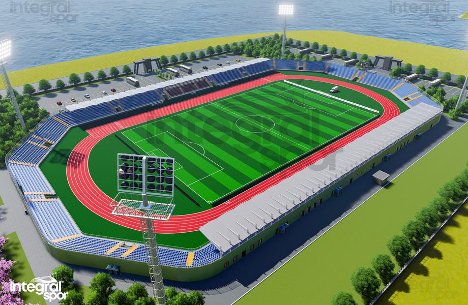30.000 Person Stadium
