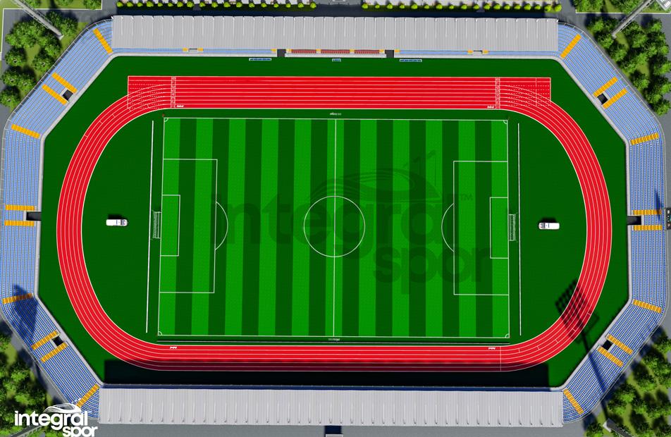 50.000 Seats Stadium