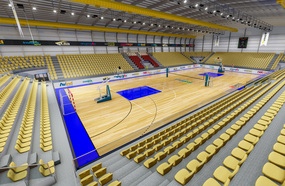Indoor Sports Halls for 500 People