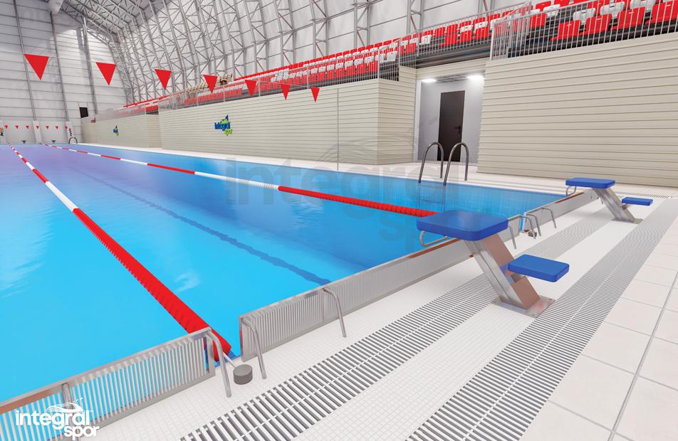 Semi-Olympic Swimming Pools