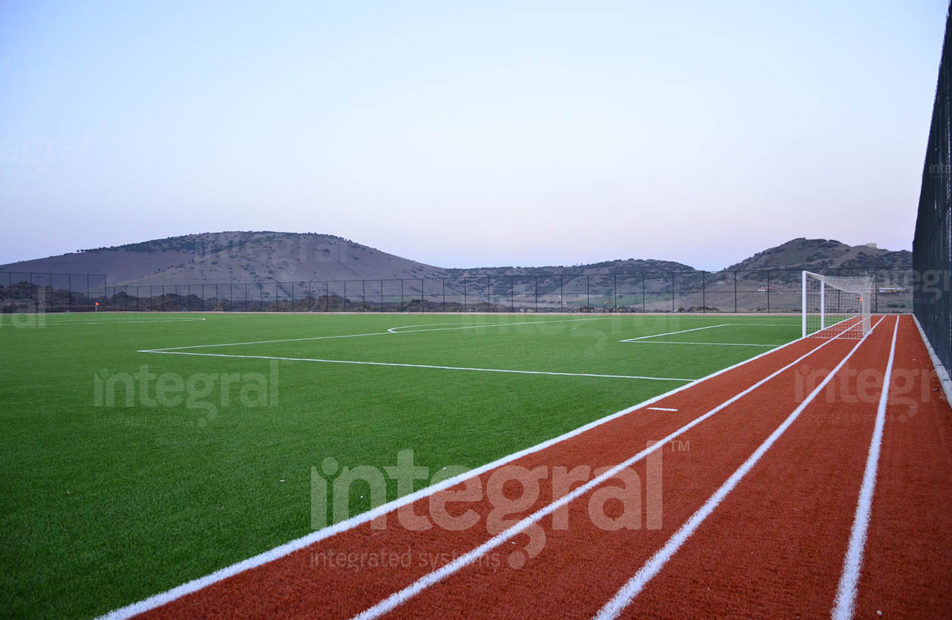 Regular Football Training Field