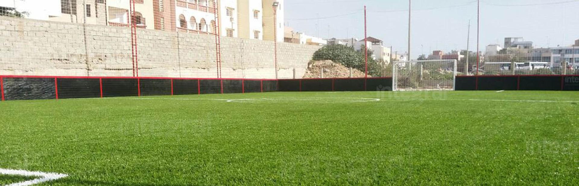 Modular Mini Outdoor Football Field