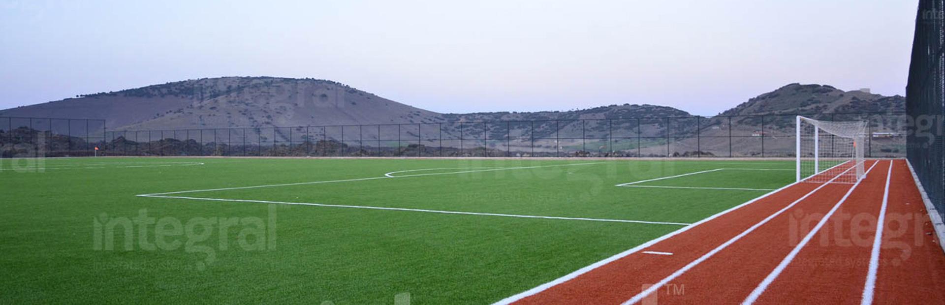 Regular Football Training Field