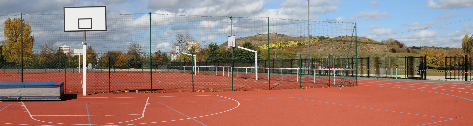 For Basketball Court Construction Cost
