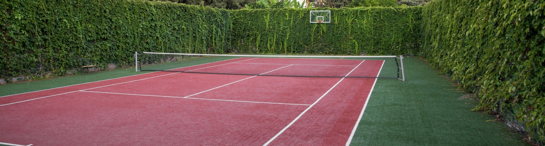 For Tennis Court Construction Cost