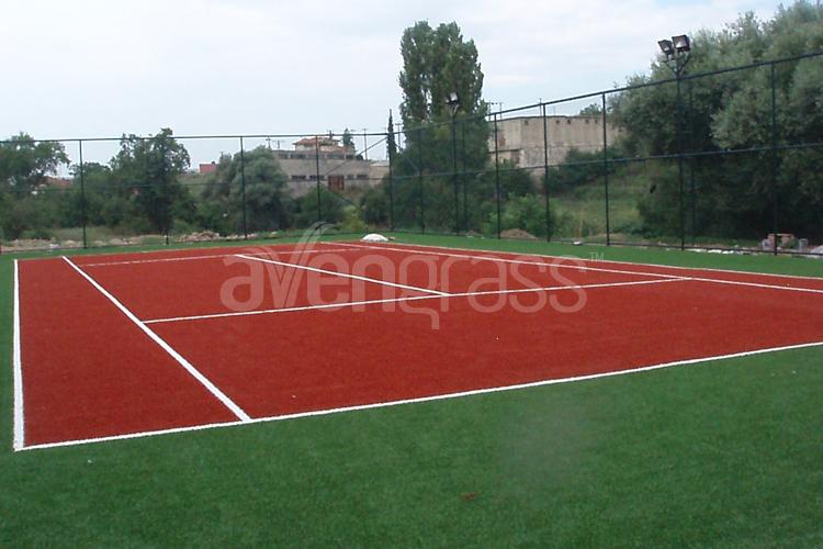 Tennis padel grass