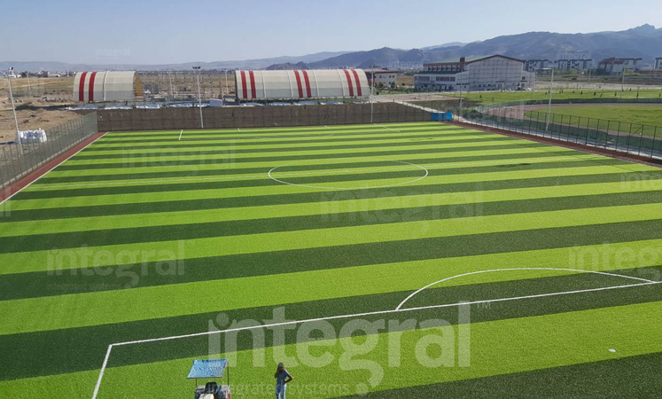 Afyon University Regulatory Grass Field