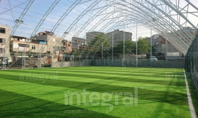 Istanbul Beylikduzu Indoor astro pitch Steel Construction