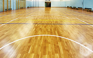 Outdoor and indoor basketball court construction for Indoor basketball court construction