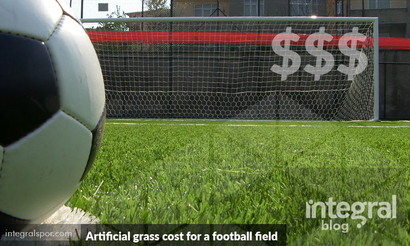 How much does artificial grass cost for a football field for How much does a sport court cost