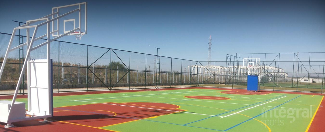 Multi Purpose Sports Pitch Building