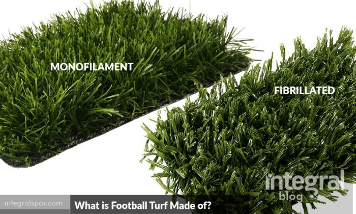 What is Football Turf Made of?