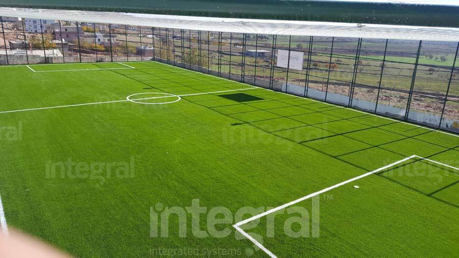 How to Make a Football Carpet Field; Football carpet fields